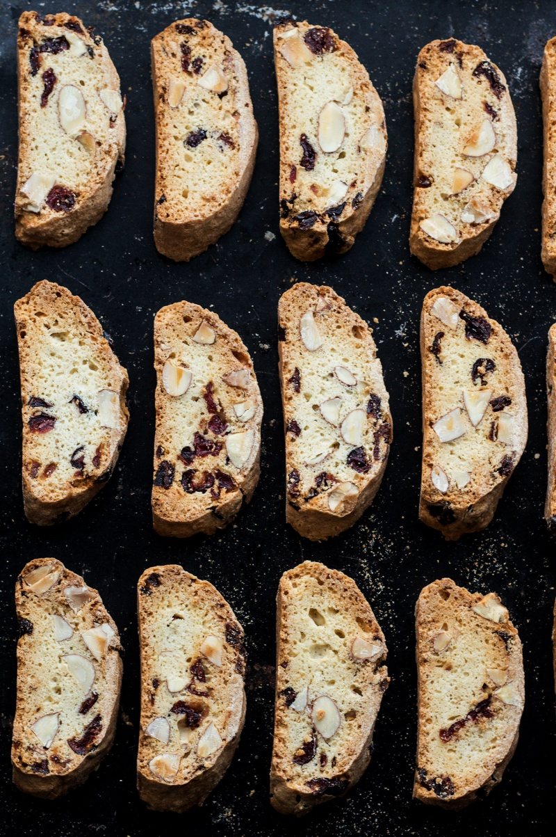 eggless biscotti tray