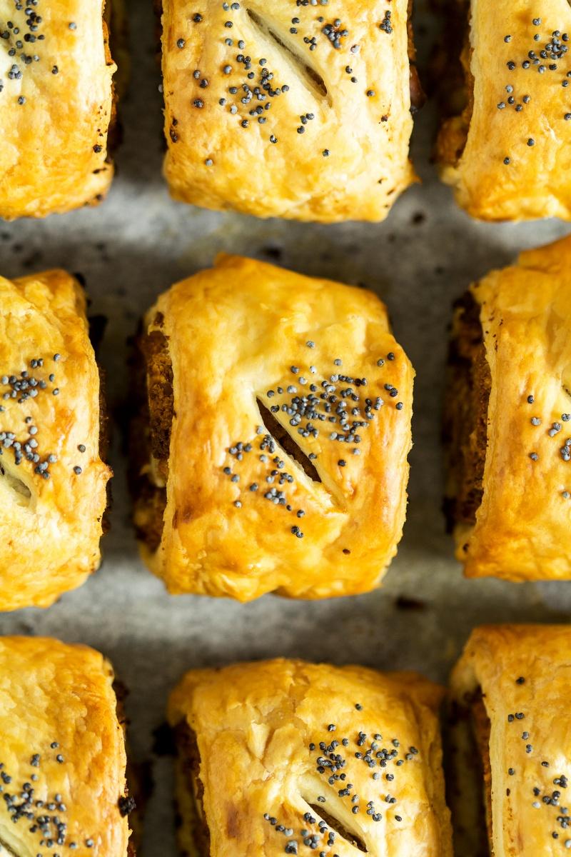 vegan sausage rolls macro