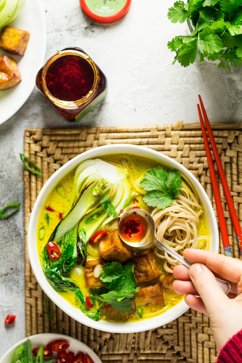 Ginger and turmeric broth lazy cat kitchen ginger turmeric broth chilli oil forumfinder Image collections