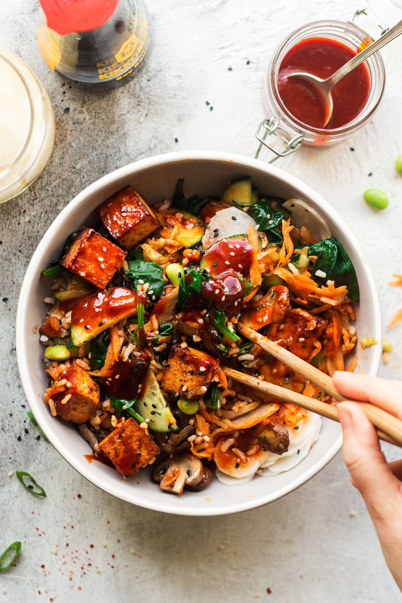 Asian Tofu Bowl