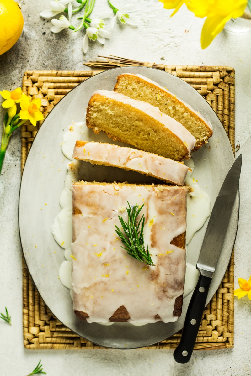 How To Make Vegan Lemon Drizzle Cake