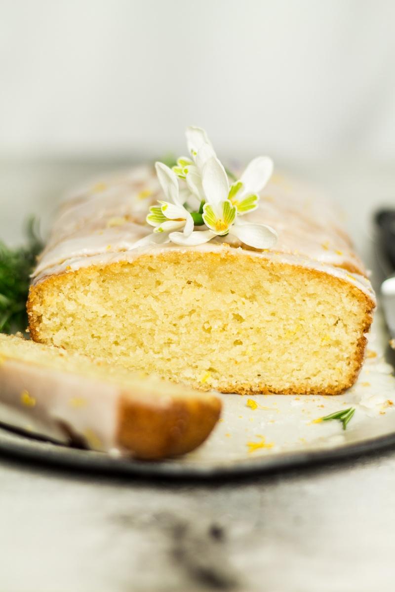 Vegan Lemon Drizzle Cake Lazy Cat Kitchen