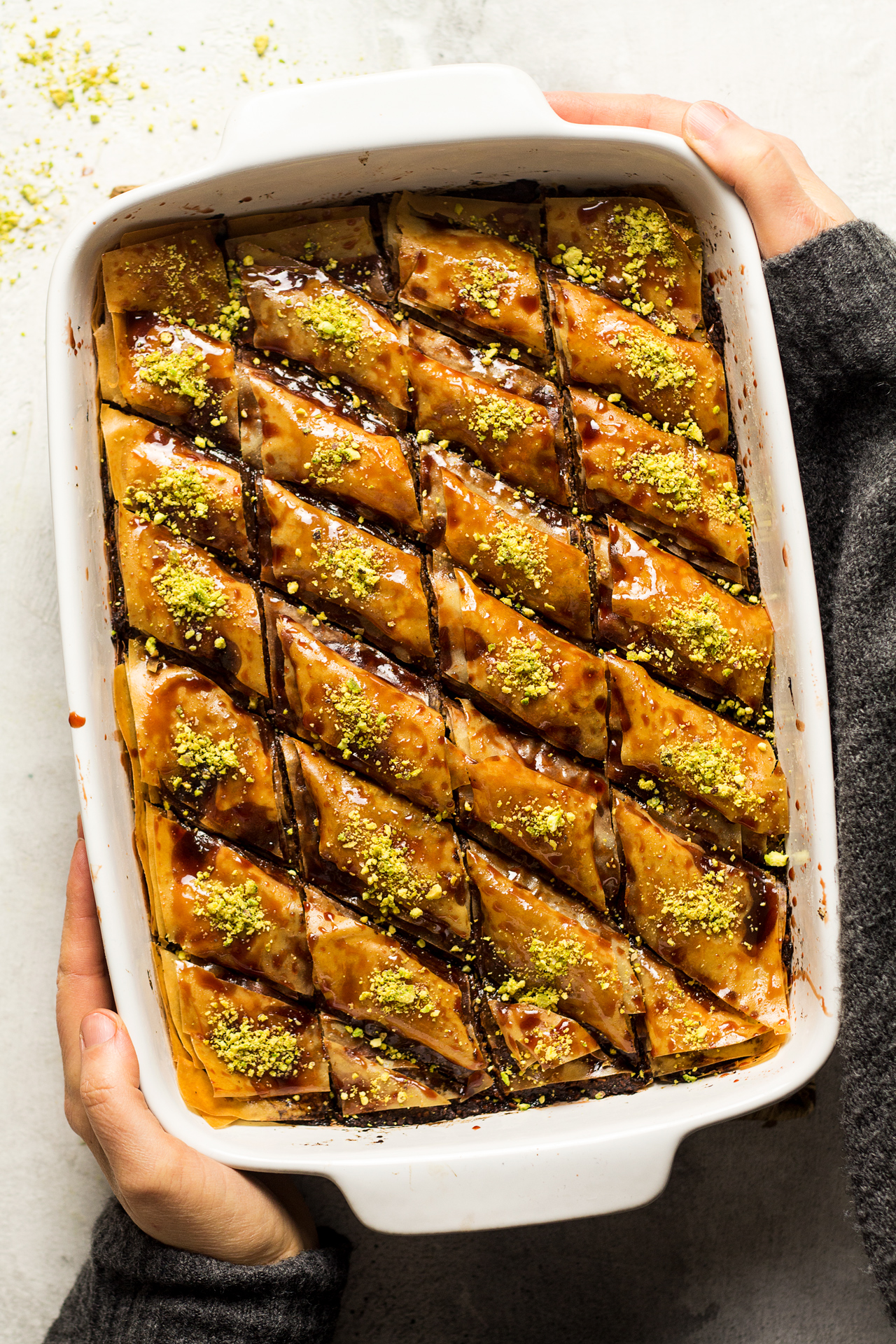 Vegan Date Baklava Lazy Cat Kitchen