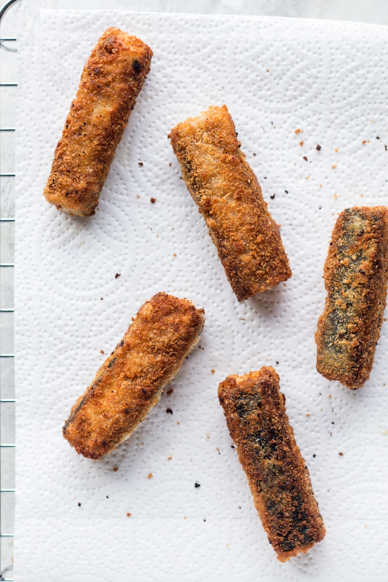 vegan fish finger