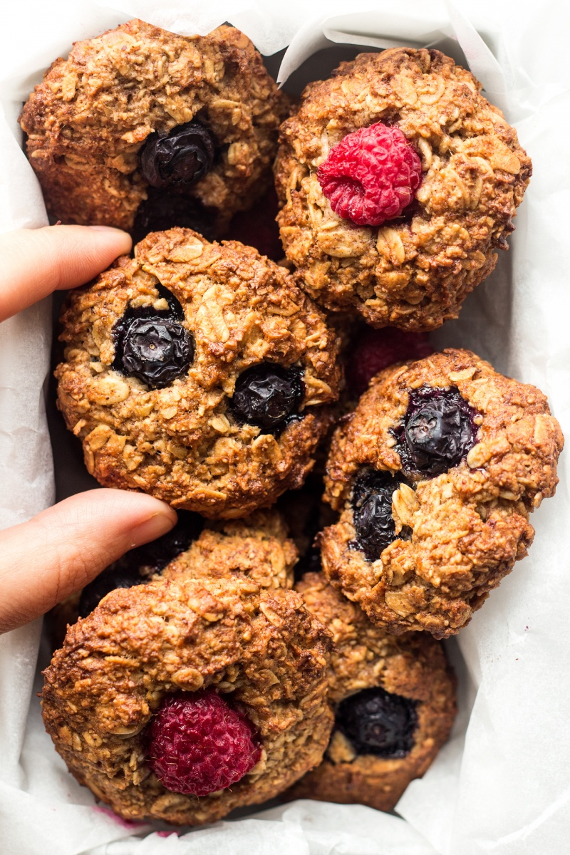 vegan breakfast cookies box