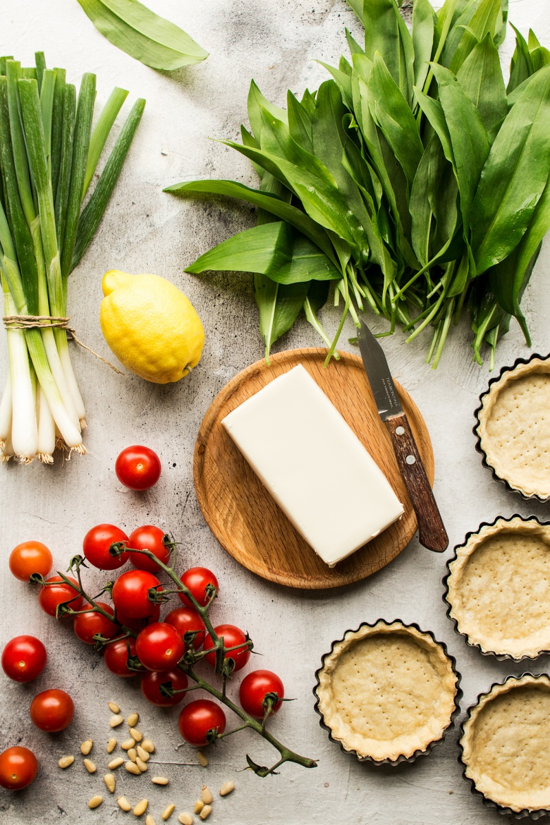vegan quiche tarts ingredients