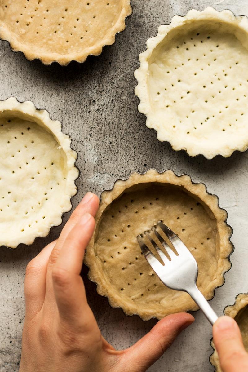 vegan quiche tarts pastry