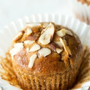 vegan banana bread muffins one