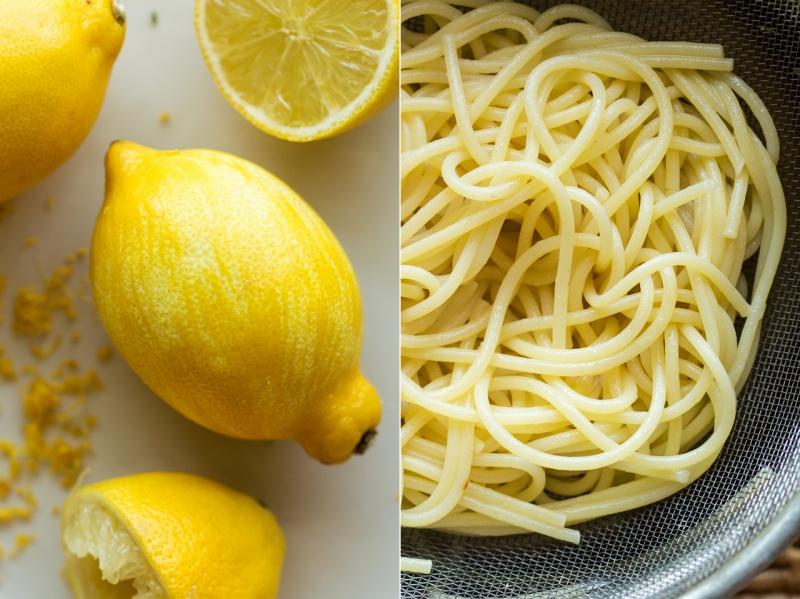 vegan broccoli pasta lemon pasta