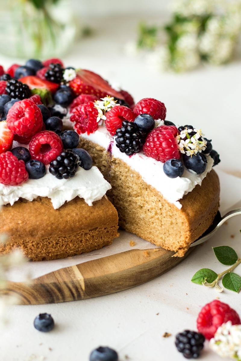 vegan sponge cut