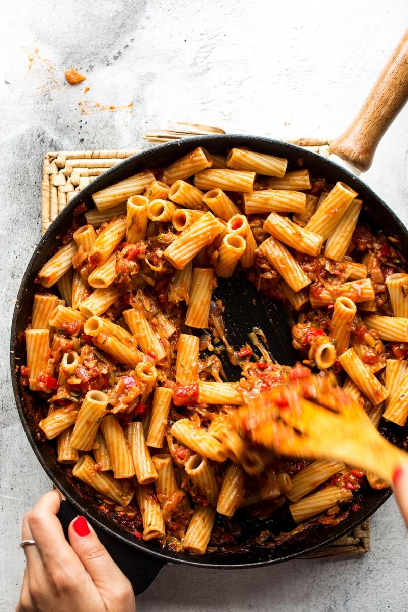 zucchini bolognese pan