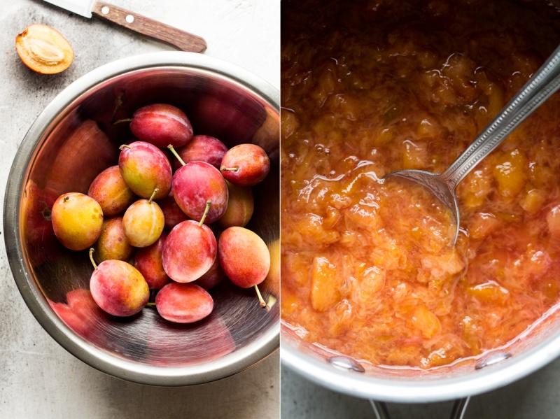 spiced plum loaf plum puree