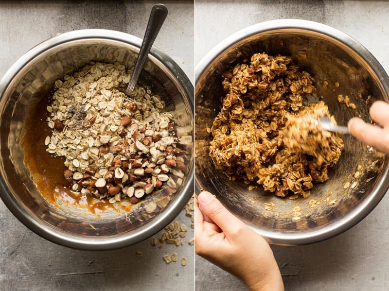 granola pots making granola