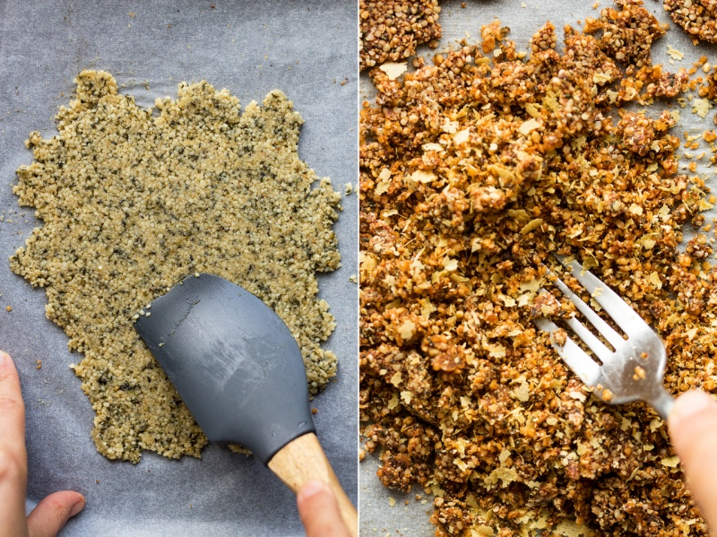 vegan parmesan hemp seeds making