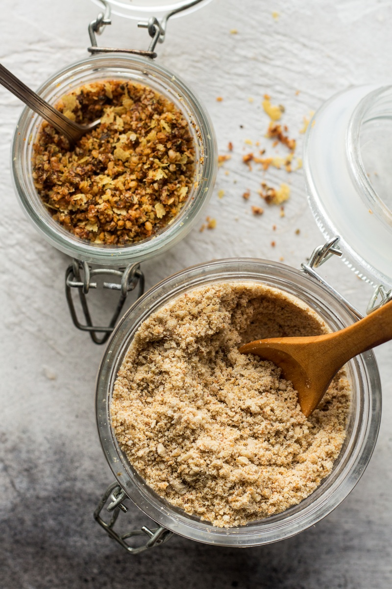 vegan parmesan two ways