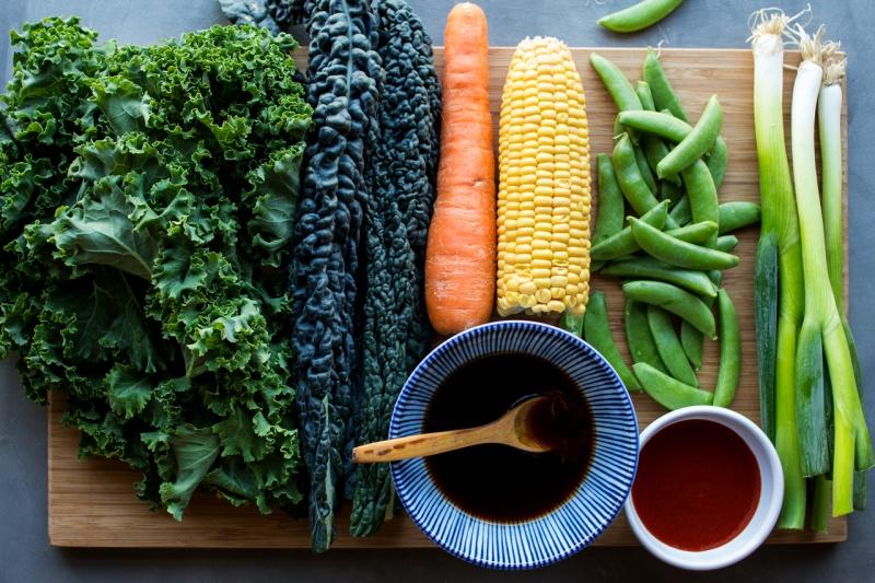 vegan fried rice ingredients