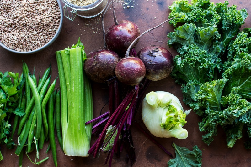 roast beetroot bowl ingredients