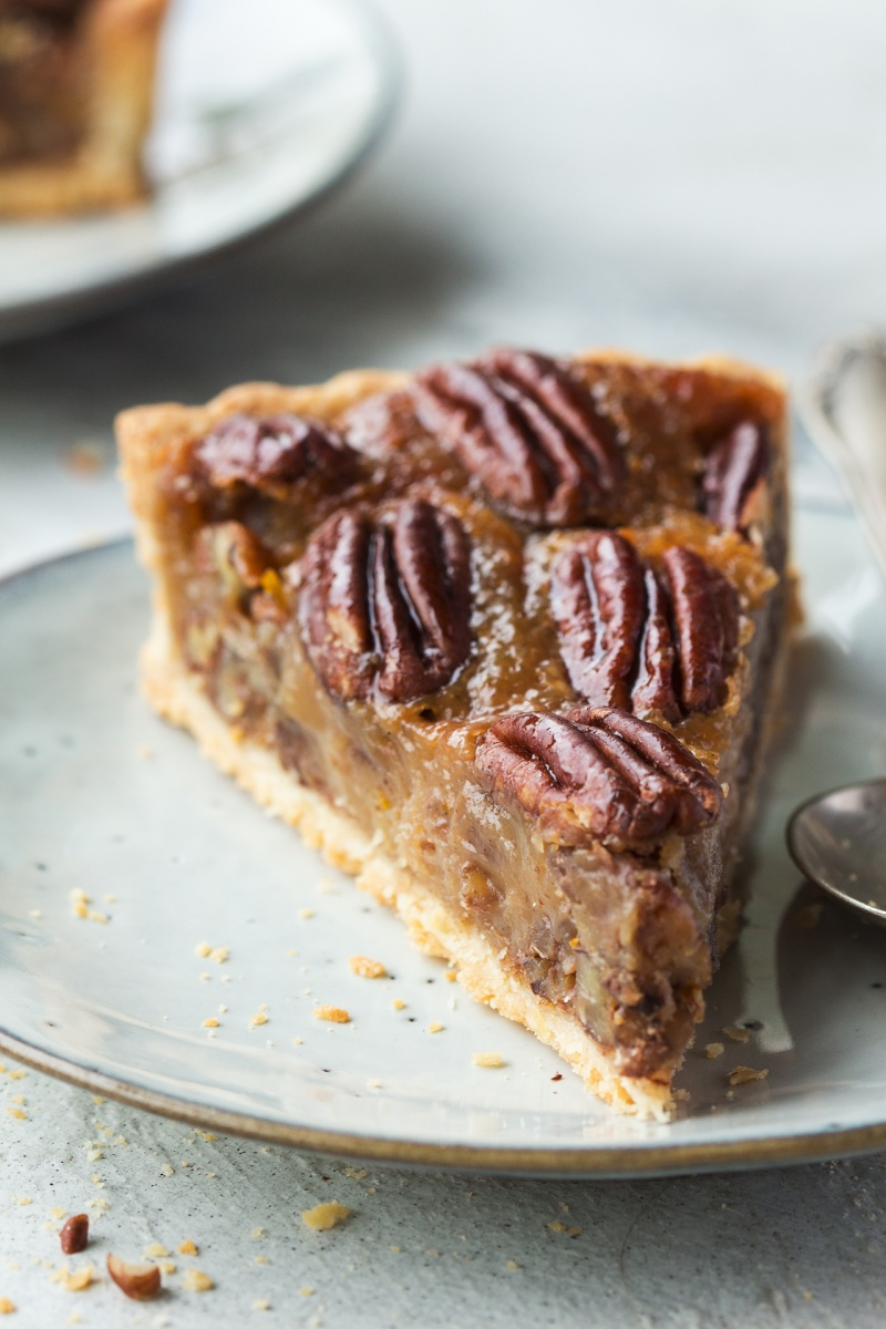 vegan pecan pie slide