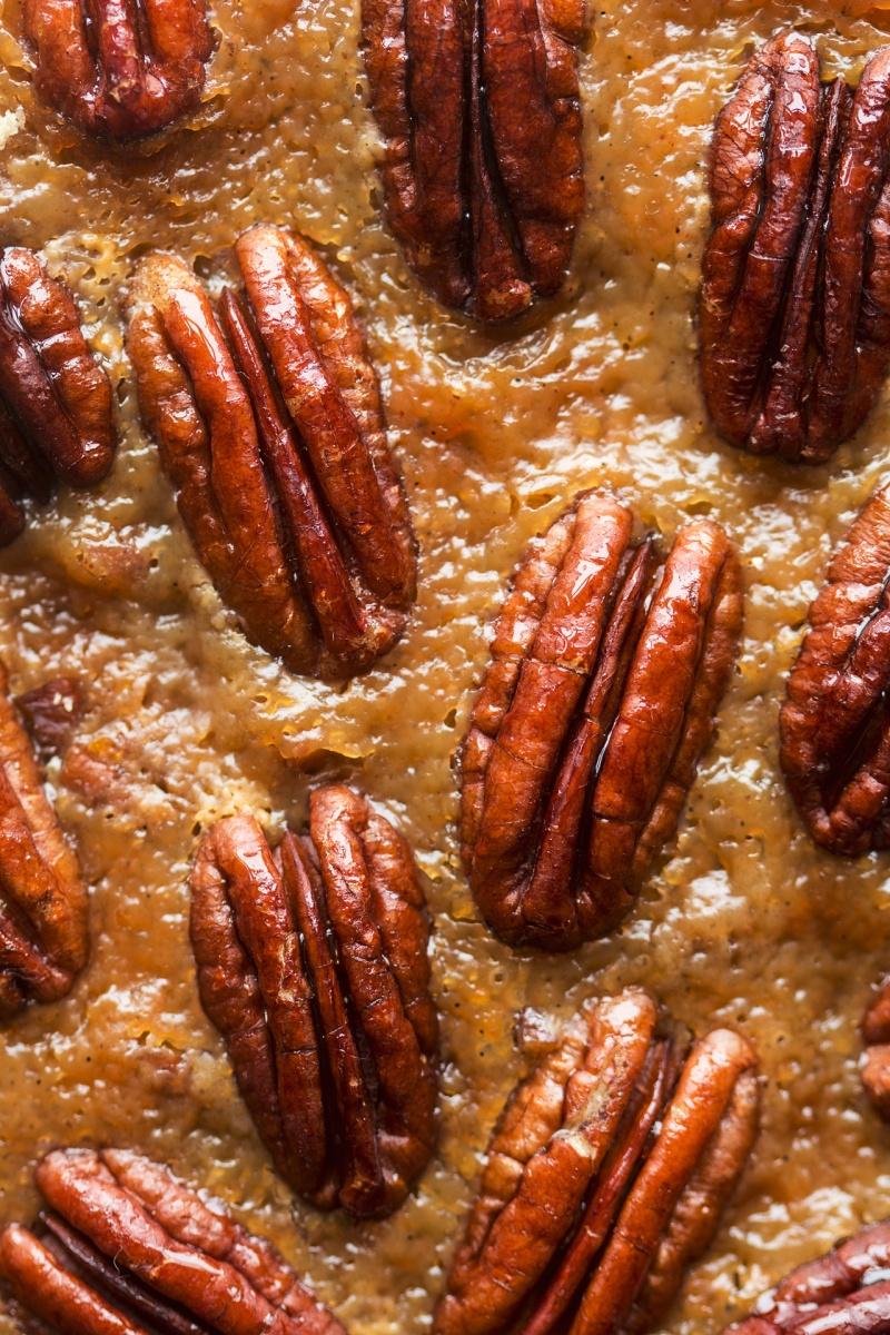 vegan pecan pie texture