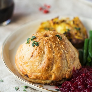 vegan thanksgiving pithiviers