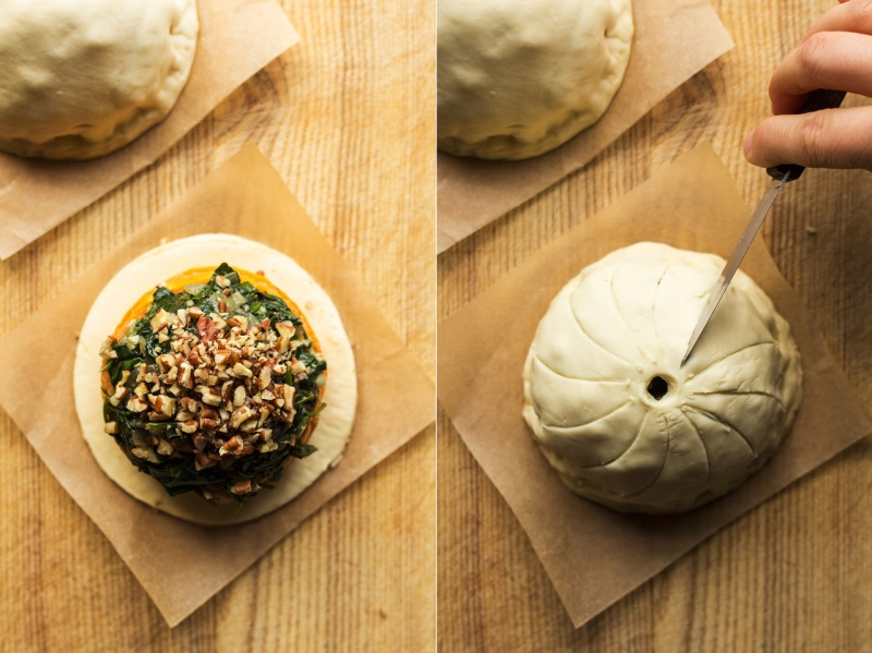 vegan thanksgiving pithiviers process