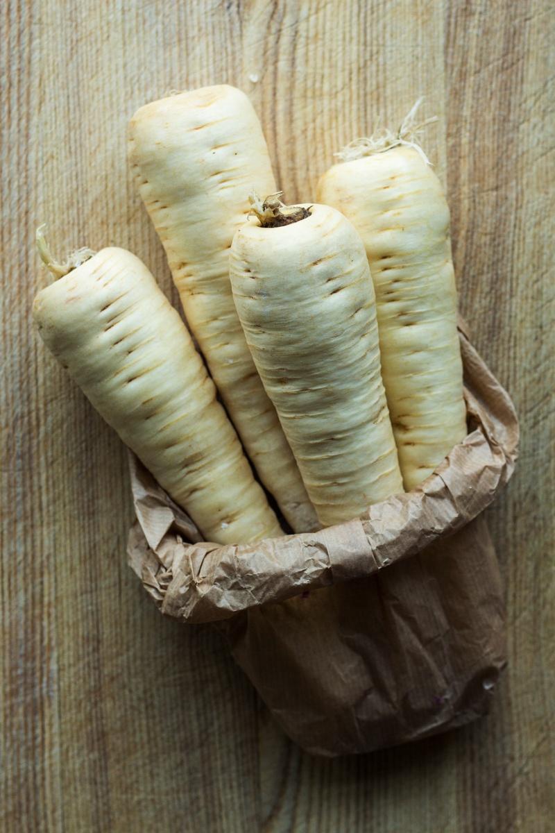 vegan parmesan parsnips