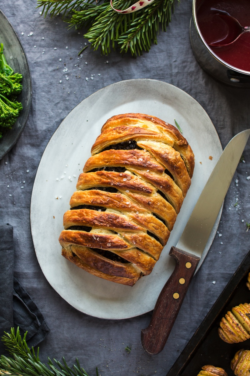 vegan wellington top down