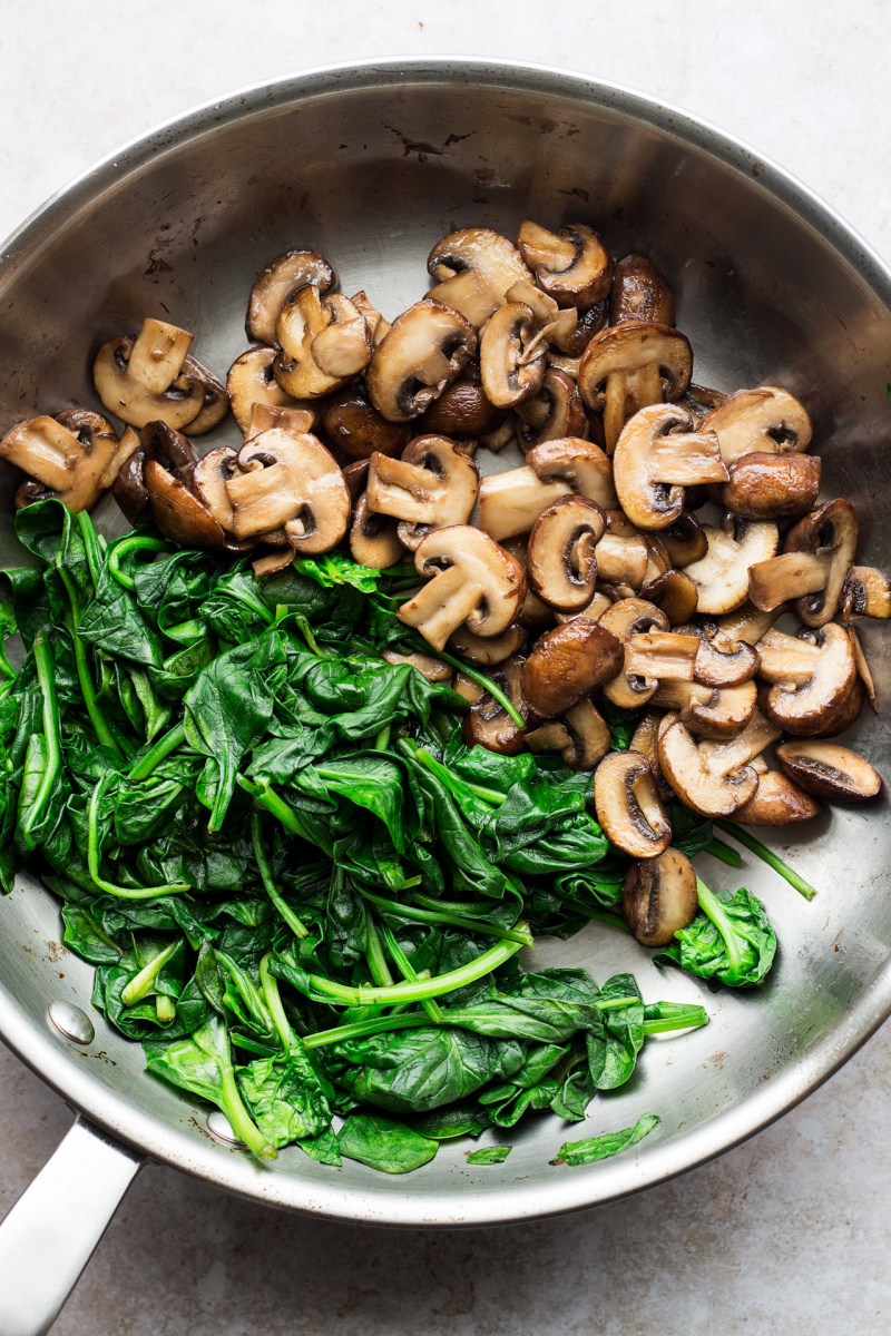 vegan mushroom pasta key ingredients