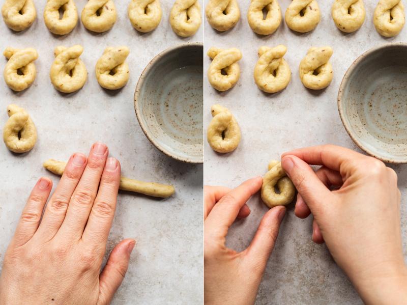 taralli making