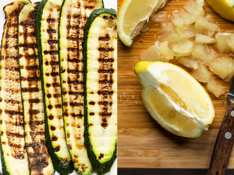 grilled zucchini salad key ingredients