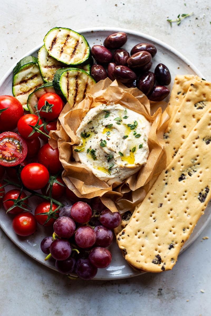 easy vegan ricotta cheese close