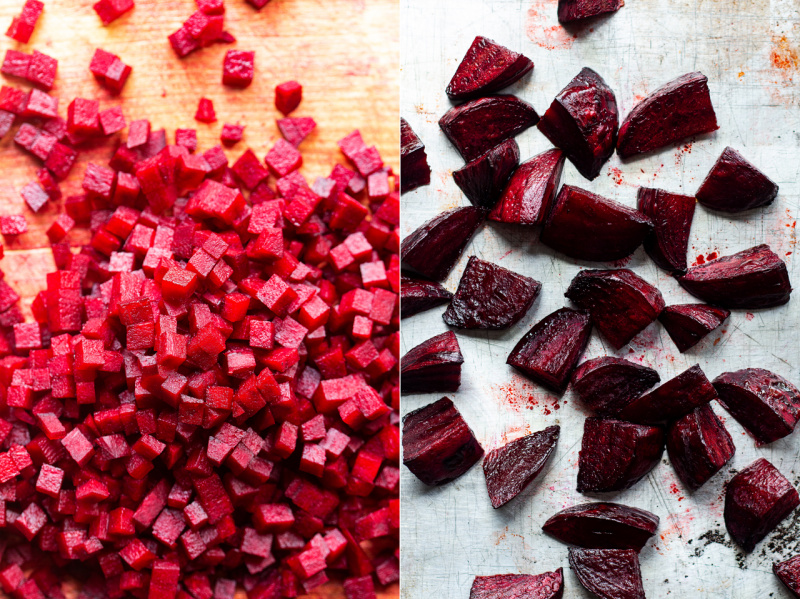 vegan beetroot risotto beetroot two ways