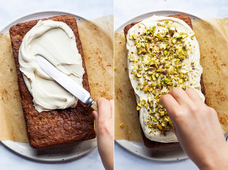 vegan zucchini bread icing