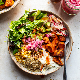 sweet potato bowl