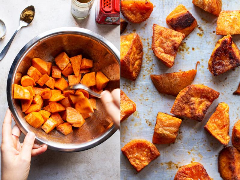sweet potato bowl sweet potato baked