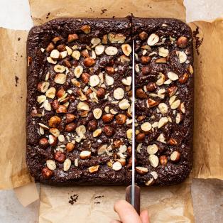 flourless vegan brownies