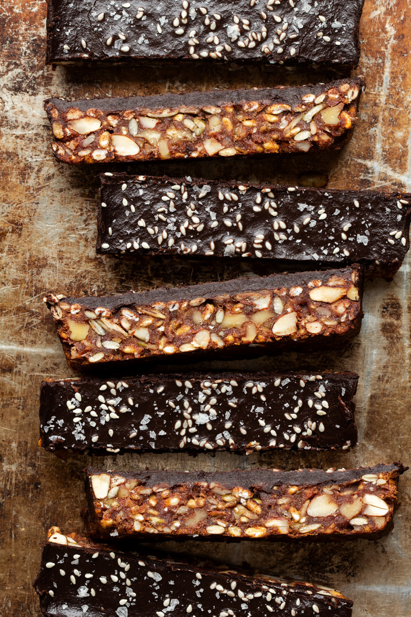 healthy date bars