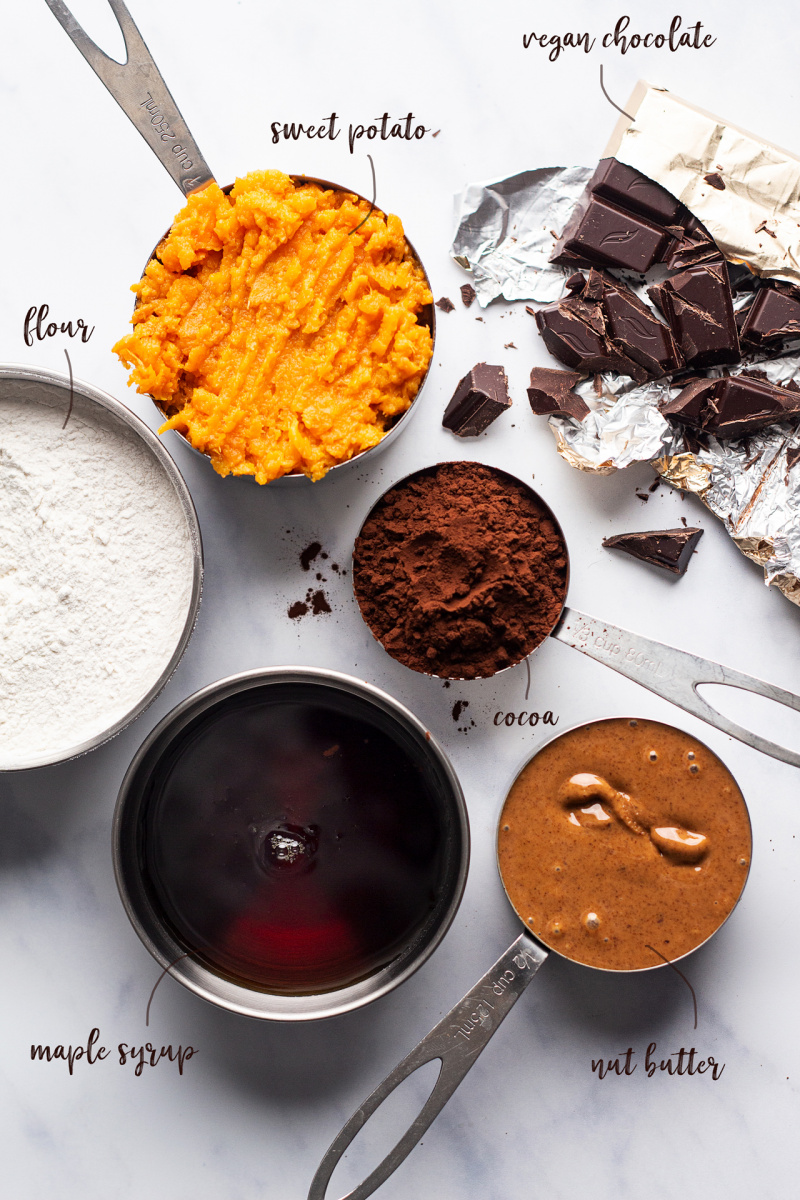 healthy chocolate muffins ingredients