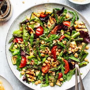 easy vegan bbq salad