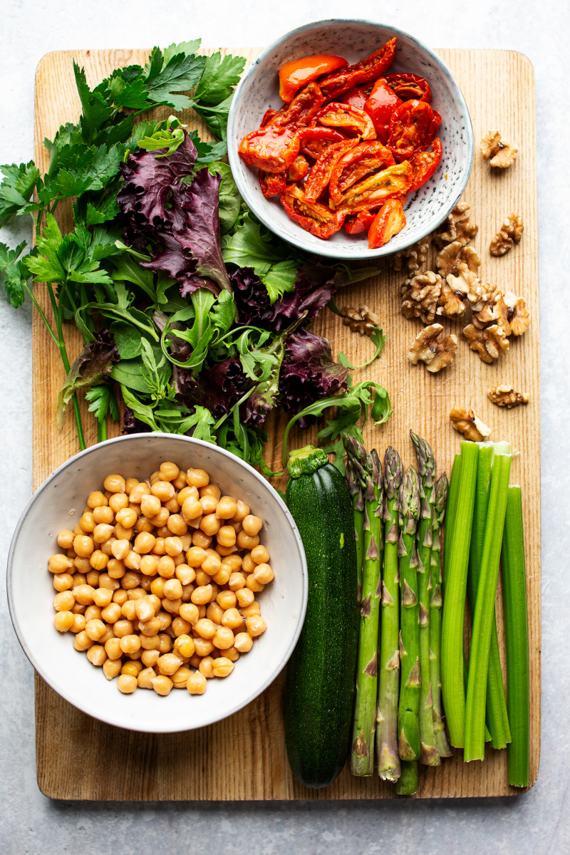 easy vegan bbq salad ingredients
