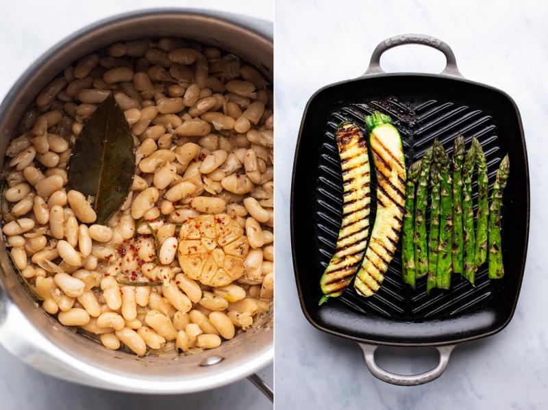 vegan bean stew ingredients