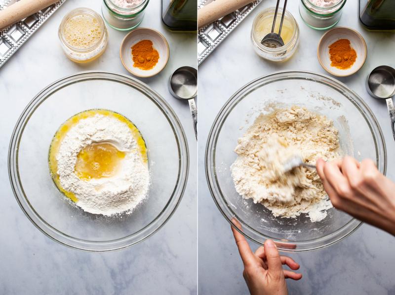 vegan wild garlic ravioli dough