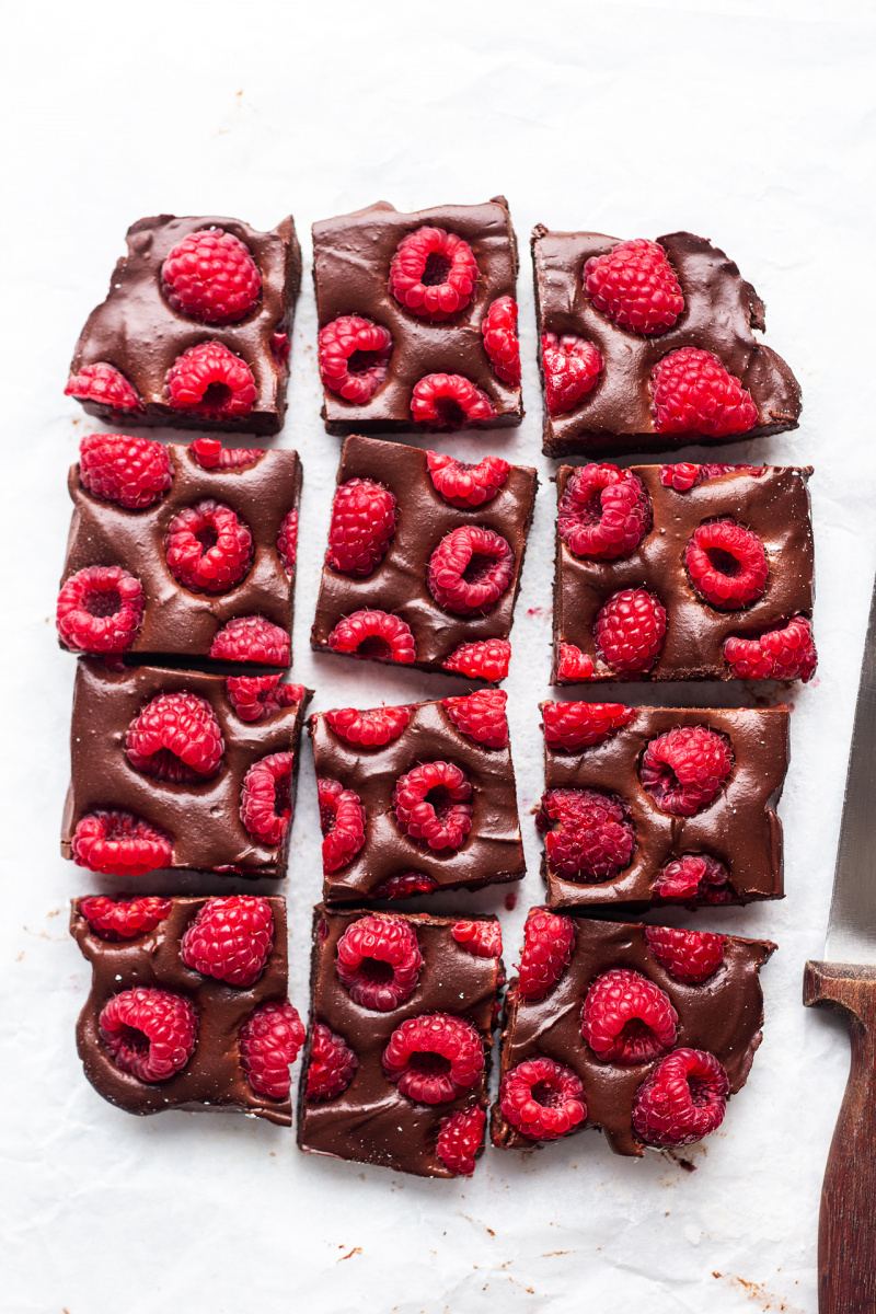 no bake brownies set