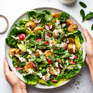 vegan new potato salad