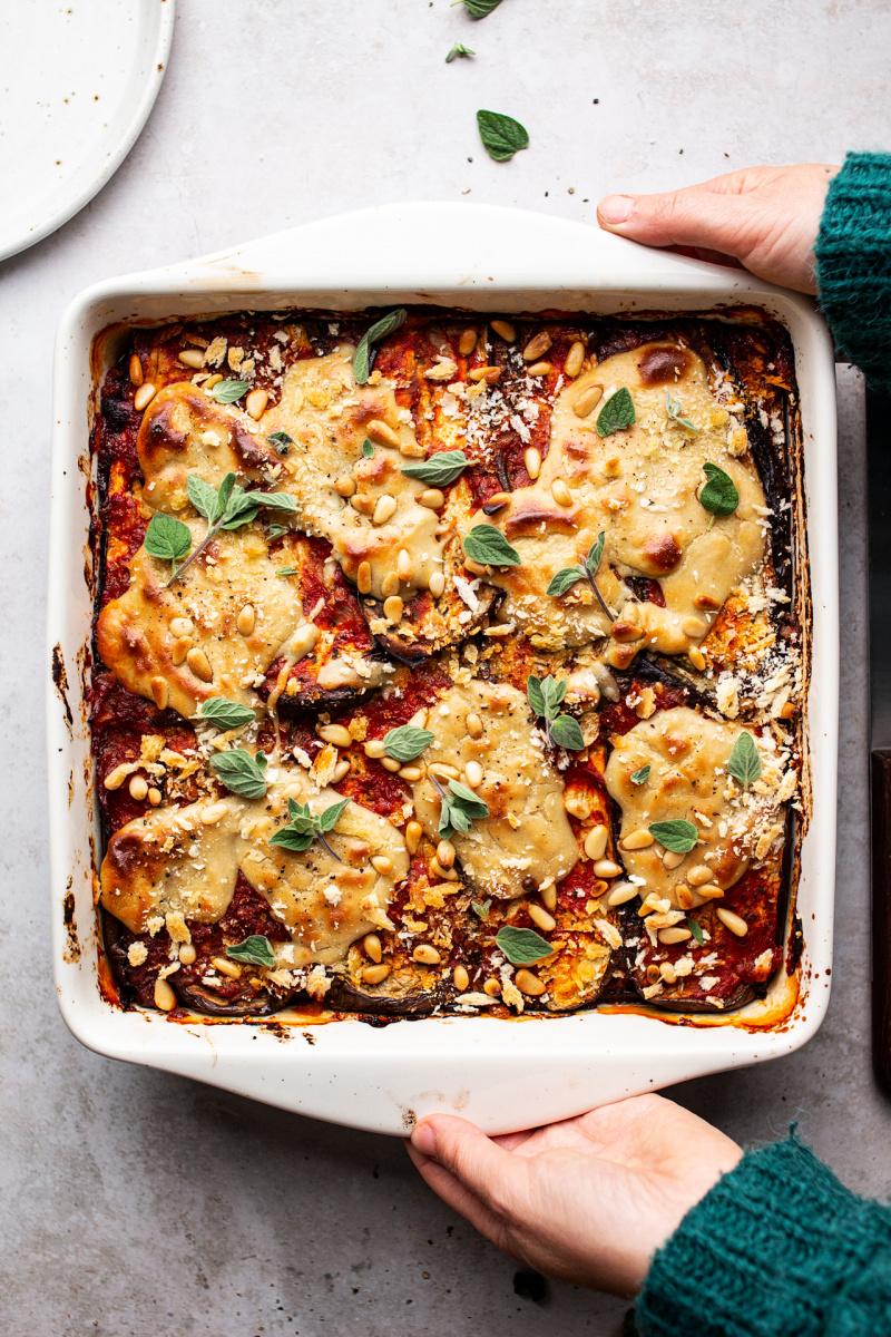 vegan eggplant parmigiana