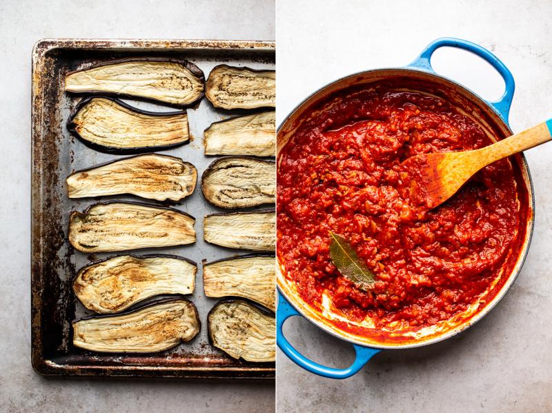 vegan eggplant parmigiana ingredients