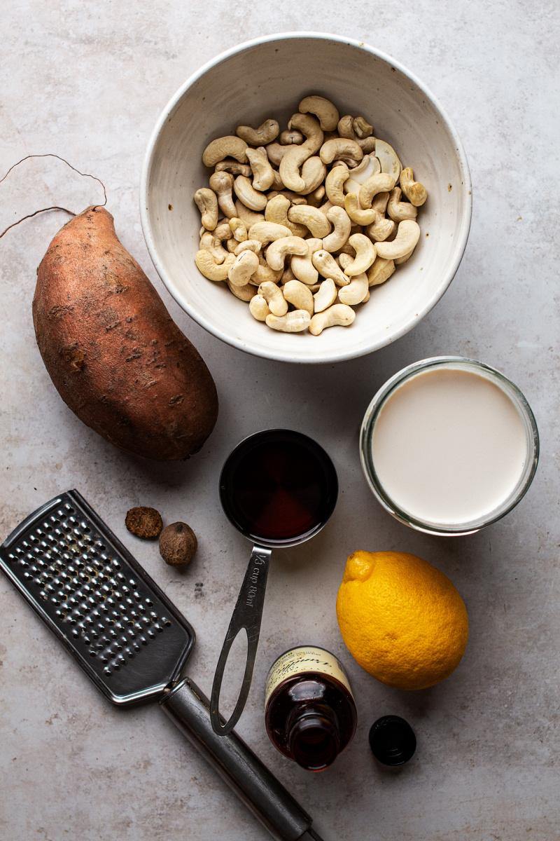 vegan custard tarts ingredients
