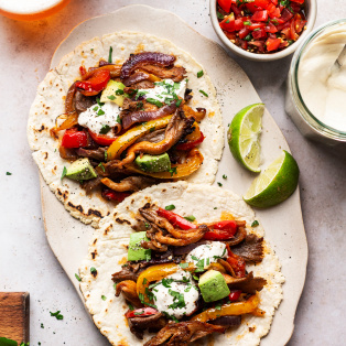 easy vegan fajitas