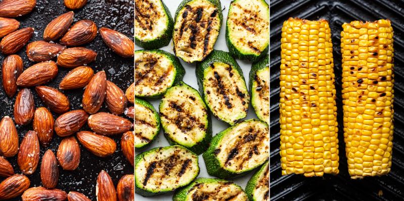 vegan summer salad ingredients