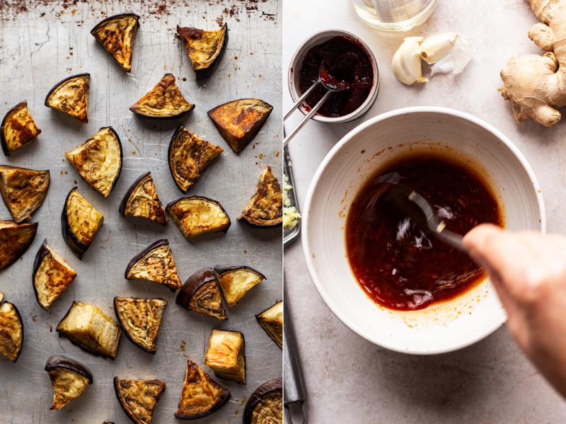 gochujang eggplant sauce